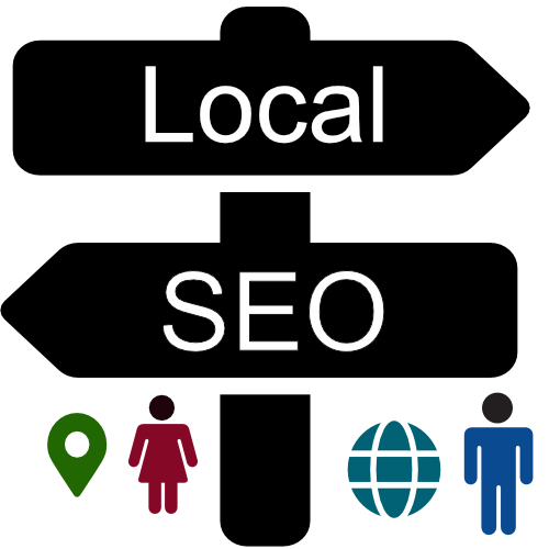 Local seo page link