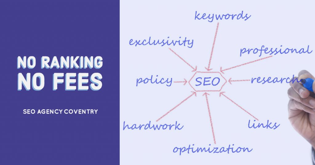 No ranking no fees SEO agency in coventry