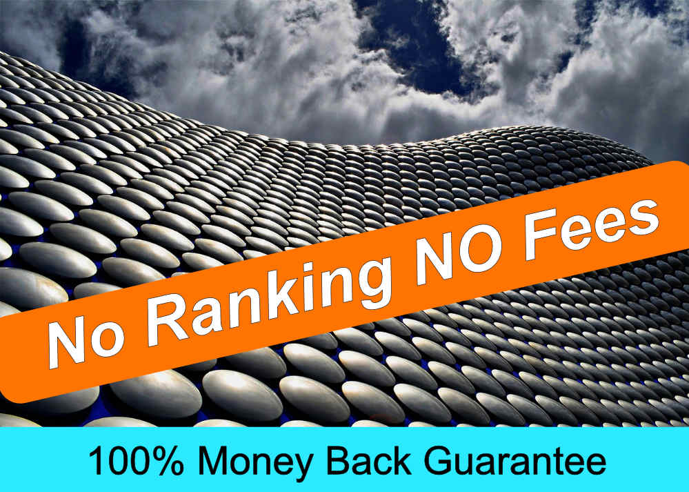 No ranking no fees SEO agency Birmingham