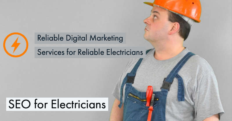 digital marketing services for electrical companies