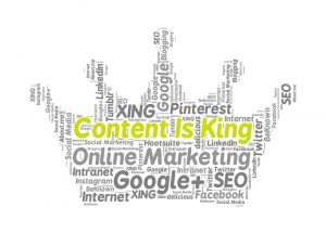 content marketing agency page